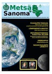 Metsasanoma-1-2012 nettiversio.pdf - Pudasjärvi-lehti ja VKK ...