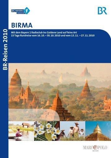 Birma - Bayern 1 Radioclub