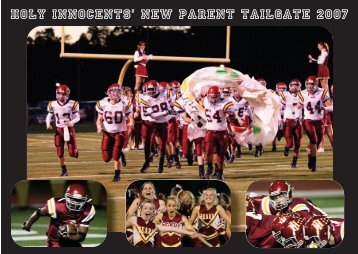New Parent Tailgate - Holy Innocents' Episcopal School