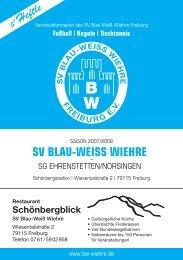 12.05.2008 SV Blau-Weiss Wiehre gegen SG Ehrenstetten/Norsingen