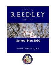 City of Reedley General Plan 2030
