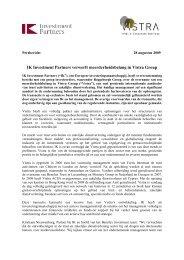 090828 Press release NL - Vistra