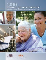 2010 Annual Quality Report - Care Providers of Minnesota