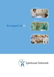 Årsrapport 2005 - Sykehuset Telemark