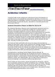 Acidentes Infantis