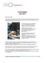 2013 04 Nyhetsbrev v 1.0.pdf - Brf Vykortet 1