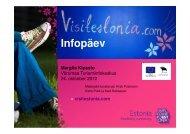 visitestonia.com infopäev Põlvamaal - Lõuna-Eesti