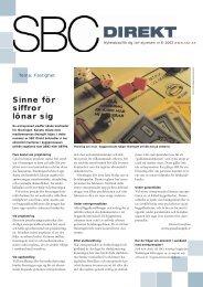 SBC direkt 6-02 - Bostadsrätterna