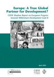 Europe: A True Global Partner for Development? - OneWorld