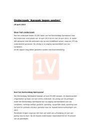 Rapport aanpak tegen pesten - EenVandaag
