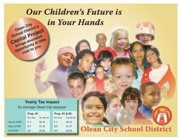 Capital Project 2007 Brochure - Olean City School District