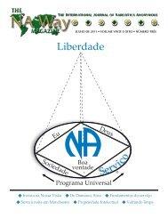 Portuguese NAWay Magazine - July 2011 - Narcotics Anonymous