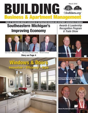 March 2012 BBAM Magazine - HBA of Southeastern Michigan