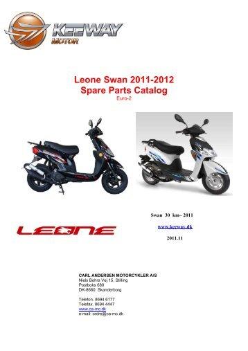 Leone Swan 2011-2012 Spare Parts Catalog - Carl Andersen ...