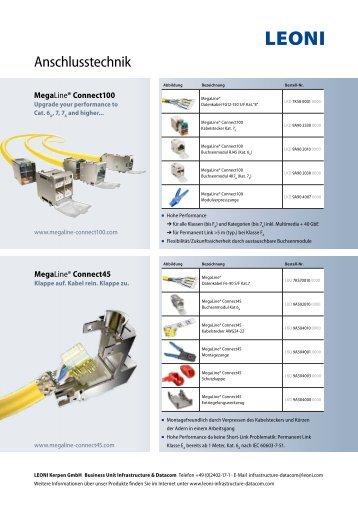 Produktflyer - LEONI Infrastructure & Datacom