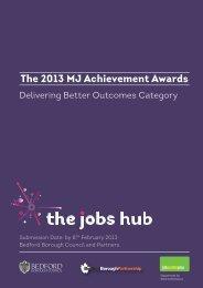 Bedford Borough Council - The MJ Awards