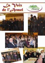 Bulletin Hénon Février 2011 - Mairie de Henon