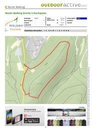 Nordic Walking Nordic Walking Strecke 1 Hochspeyer - Zentrum ...