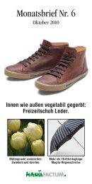 Innen wie außen vegetabil gegerbt: Freizeitschuh Leder. - Manufactum