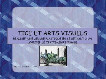 TICE ET ARTS VISUELS - IEN Sannois