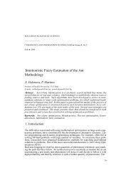Intuitionistic Fuzzy Estimation of the Ant Methodology