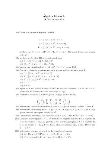Lista 2 - Unesp