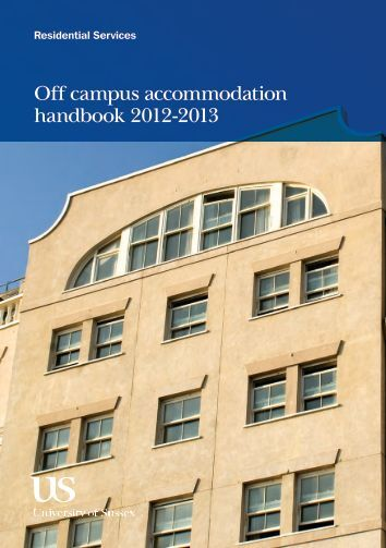 Off campus accommodation handbook 2012-2013 - Home