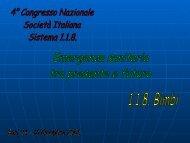 G. Satriano - Formazione In Emergenza Sanitaria