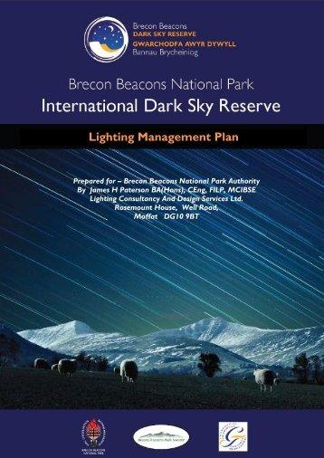 Lighting Management Plan - International Dark-Sky Association