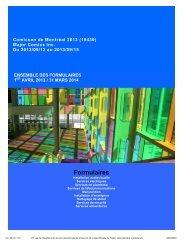 formulaires de commande - audiovisuel, électricité ...