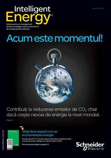 Acum este momentul! - Schneider Electric