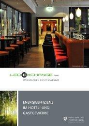 Hotel und Gastgewerbe Broschüre - LEDeXCHANGE