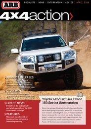 Toyota LandCruiser Prado 150 Series Accessories - ARB