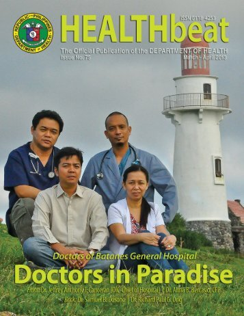 Health Beat Issue No. 75 March- April 2013 - DOH