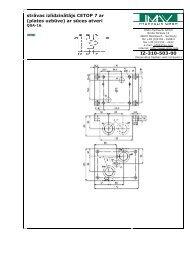 iespiedversija - IMAV-Hydraulik GmbH
