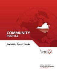 Charles City - Virginia Scan - Virginia Economic Development ...