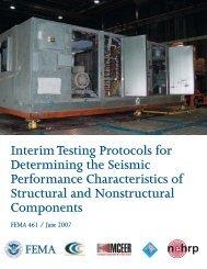 Interim Testing Protocols for Determining the Seismic ... - ATC