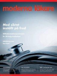 Moderna Läkare #2 2011 - Sveriges läkarförbund