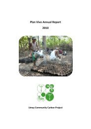 Plan Vivo Annual Report 2010
