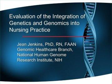 Jean Jenkins - Virginia Henderson International Nursing Library