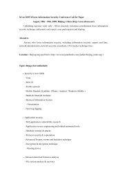English CFP - XCon - Xfocus.org