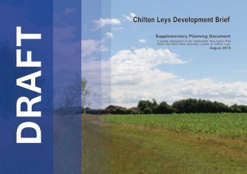 Chilton Leys Development Brief - Mid Suffolk District Council