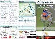 Flyer 2009 Hunsrücker Naturfototage - Hans-Martin Braun und ...