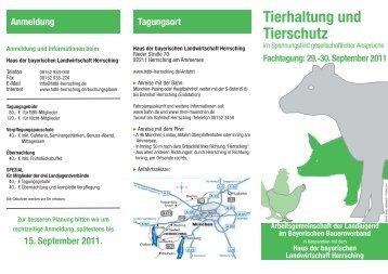 Jung Unternehmer Tagung Im Haus Der Bayerischen Landwirtschaft