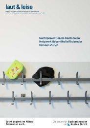 Nr. 1 - Suchtprävention im Kanton Zürich