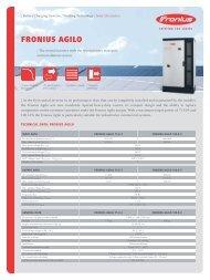 FRONIUS AGILO