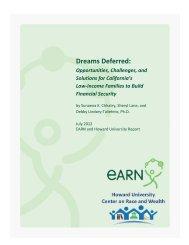 Dreams Deferred: - COAS - Howard University