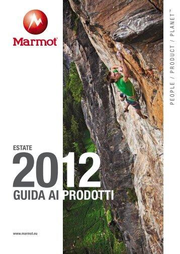 GUIDA AI PRODOTTI - Marmot