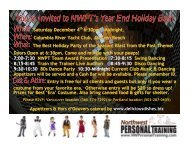 Download the Registration Form PDF Here. - Northwest Personal ...