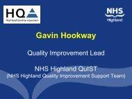 Presentation - Quality Improvement Hub